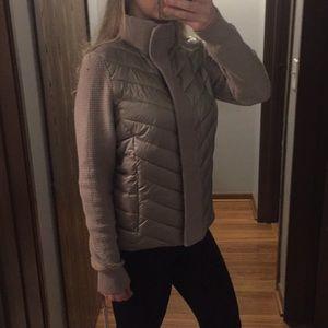 Calvin Klein puffer jacket M patina metallic color